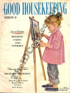 Vintage 1952 Good Housekeeping Magazine Nov 52 by TheIDconnection, $30.00