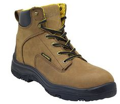 "eb15cadbcda2 Ever Boots ""Ultra Dry"" Men s Premium Leather Waterproof Work Boots  Insulated Rubber Outsole for Hiking"