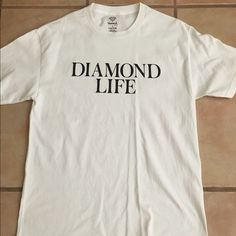 79b5ccd17fae3f Men s Diamond Supply Co T-shirt White Size Large Condition  Used - Color   White - Size  Large Price   13 (100% Authentic Or Money Back!)