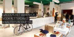 GROOS department store, exclusively with products from Rotterdam - Schiekade