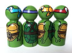 the warrior collection teenage mutant ninja by thewhimsicalsweet