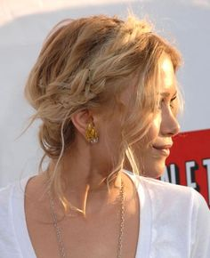 Mary-Kate Olsen's delightful hairstyle