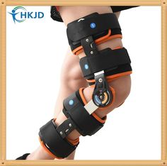 """600832f0a0 """"Hinged Knee Post-Op Patella Brace Support Stabilizer - It is made of  aluminum with immobilization neoprene strap, sticky cloth fastener straps  insure ..."""