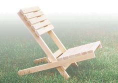 <strong>Portable Project:</strong> Take your own chair with you when attending outdoor events. This fold-up chair is easy to carry and comfortable to sit on.<br />