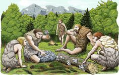 Spanish Neanderthals munched on mushrooms, pine nuts and moss. Scientists got a sneak peek into the kitchen and medicine cabinets of three Neanderthals by examining the DNA of the stuff stuck on and between their teeth. (Abel Grau Guerrero/AP) By Associated Press By Associated Press March 8 at #'CaveMan, #Diet, #Included, #Meat, #More, #New, #Shows, #Study, #Than, #The