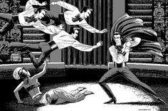 Pixel artist Uno Moralez creates campy, erotic, Lynchian nightmares | Dangerous Minds