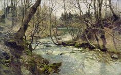 River, 1886, Frits Thaulow