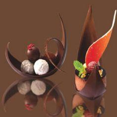 Härlig chokladefterrätt.