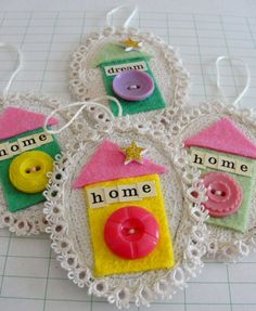 Home Tiny Wall Ornaments by l.duranceau, via Flickr
