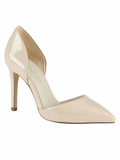 Livergnano pointed toe court shoes