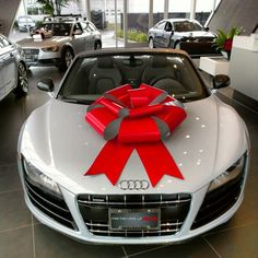 #WantAnR8 for Christmas... pretty sure we're not alone :)