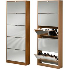 A Shoe Rack?  What? Tvilum Springfield Shoe Cabinet, Cherry