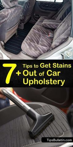 Spills Happen On Your Car Seats And Carpet No Matter How Careful You Are Learn How To Easily Remove Sta In 2020 Car Upholstery Cleaning Car Upholstery Clean Car Seats