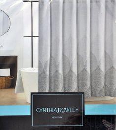 Cynthia Rowley Stamped Ombre Black Gray White Shower Curtain Cynthia Rowley New York, CHEAPER ON EBAY http://www.amazon.com/dp/B00GL4XYN4/ref=cm_sw_r_pi_dp_7lTYsb0E6F675DNJ