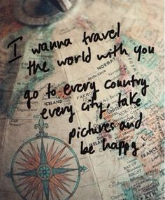 I wanna travel with u