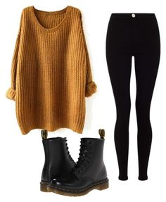 """Untitled #54"" by hofer-mackenzie on Polyvore featuring Lipsy and Dr. Martens"