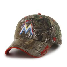 1b75fc422c3 Miami Marlins Realtree Frost Realtree 47 Brand Adjustable Hat
