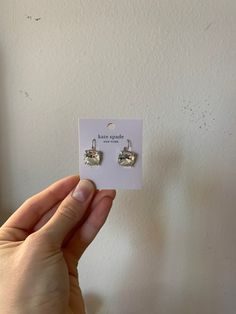 Brand new kate spade stud earrings. Originally $43. Purchased from Nordstrom. No flaws, was a gift I did not like! Kate Spade Earrings, Stud Earrings, Flaws, Nordstrom, Brand New, Gifts, Accessories, Presents, Stud Earring