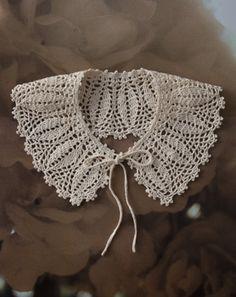 crochet collar                                                                                                                                                                                 More