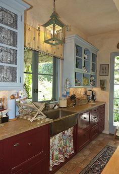 Penelope Bianchi's Romantic Kitchen in California