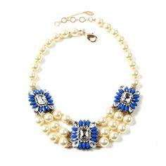 Blue Aristocratic Necklace