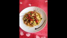 RECIPAY.COM - Poulet à la moutarde et ses légumes d'été