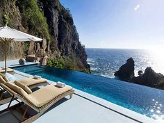 Now that is a pool with a view!