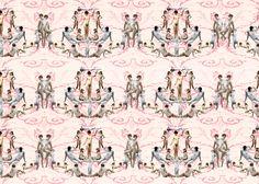 erotic victorian wallpaper