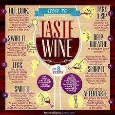 How to taste wine {wineglasswriter.com/}