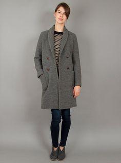 Couverture and The Garbstore - Womens - Steven Alan Womenswear - Irina Wool Coat