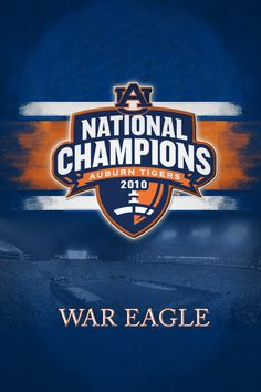 2010 BCS National Champions #AuburnFootball War Eagle! Check this out -   RollTideWarEagle.com Sports stories that inform and entertain plus FREE football rules tutorial, check it out and let us know what you think. #SEC #Auburn