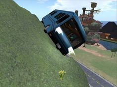 Road Odyssey House Bus offroad testdrive
