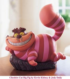 Cheshire Cat Big Figure by Miehana, via Flickr