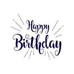 Birthday Letters, Birthday Cards, Handlettering Happy Birthday, Lettering Styles Alphabet, Boat Illustration, Balloon Arrangements, Designer Fonts, Birthdays, Google