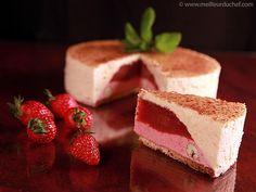 Délice de fraises au parfum de verveine - Meilleur du Chef
