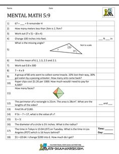math worksheet : first grade mental math worksheets 3  mental math quizzes  : Maths Quiz Worksheets