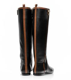 Erica Flat Riding Boot | Womens Boots & Booties | ToryBurch.com.