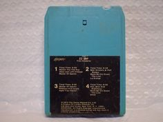 nice ZZ TOP / TRES HOMBRES / 8 TRACK TAPE   Check more at http://harmonisproduction.com/zz-top-tres-hombres-8-track-tape/