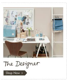 kikki.K 'The Designer Workspace' kikki-k.com