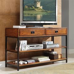 Home Styles 5050-06 Modern Craftsman Media Console