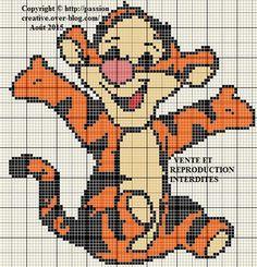 Cross Stitch Cards, Cross Stitch Baby, Modern Cross Stitch, Cross Stitch Kits, Cross Stitch Designs, Cross Stitching, Baby Afghan Crochet Patterns, Graph Crochet, Stitch Disney