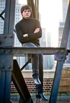 Aneurin Barnard as David Bailey in We'll Take Manhattan, 2012