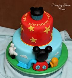 mickey mouse clubhouse cakes - Google Search