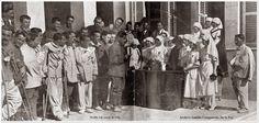 Homenaje enfermeras Cruz Roja, en Melilla. 1923