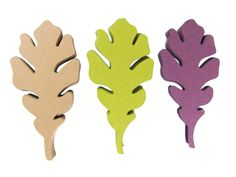 Oak leaves paper shapes / cut outs / die cuts by Hello Sunshine Paper Co