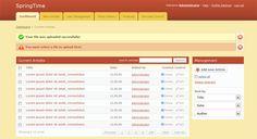 12 Best Free HTML Admin Templates - Smashfreakz