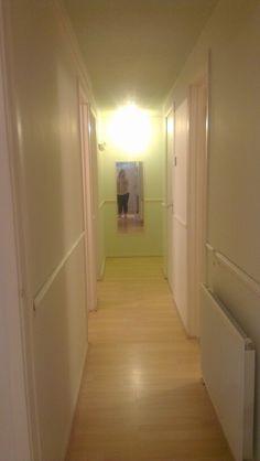 Hallway before work begins