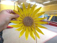 Cindy deRosier My Creative Life Paper Plate Sunflower & Coffee Filter Sunflowers - Crafts for Kids | Sunflower crafts ...