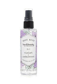Violet + Cedarwood Travel Body Mist   Forever 21 - 1000164787