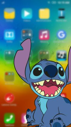 Wallpaper C, Disney Wallpaper, Stitch And Angel, Lilo And Stitch, Transparent Wallpaper, Cellphone Wallpaper, Cute Disney, Cute Wallpapers, Geek Stuff